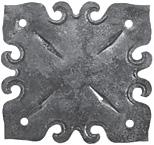 metal fixing plate  sc 1 st  Decorative iron finials & METAL FIXING PLATES FOR GATES \u0026 RAILINGS