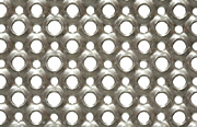 O3 perforated plank 3mm aluminium