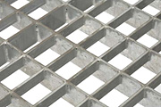 Metal floor grating15x30mm