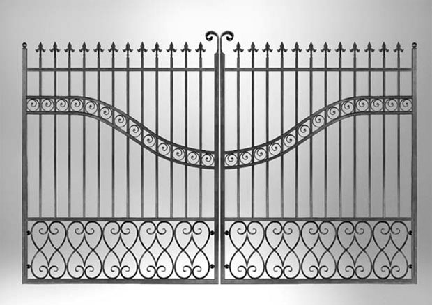 metal gate kit