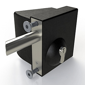 Quick Exit Gate Lock Key Access