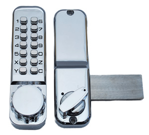 Single Keypad with rim deadlock
