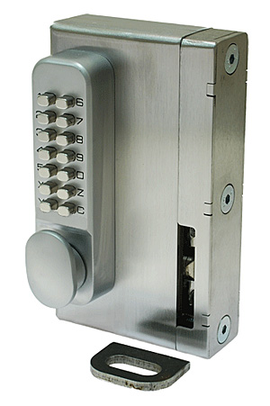 Digital lockcase with security keep