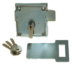 Locking bolt latch