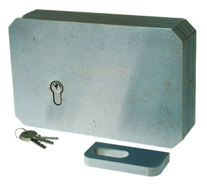 10K Extra heavy duty gate lock
