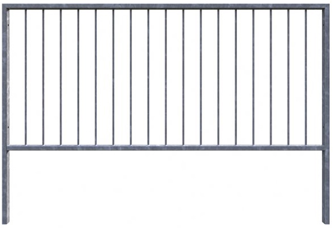 pedestrian safety barrier guardrail 1