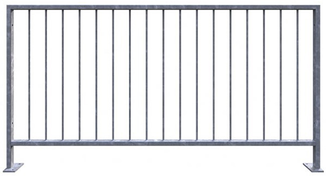 pedestrian safety barrier guardrail 2