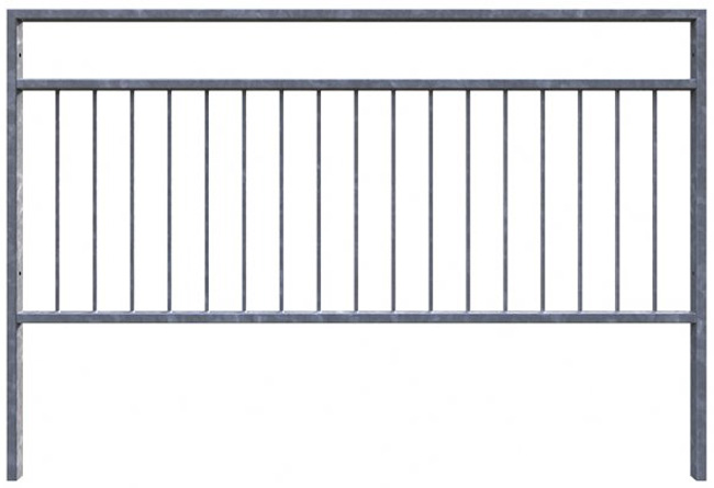 pedestrian safety barrier guardrail 4